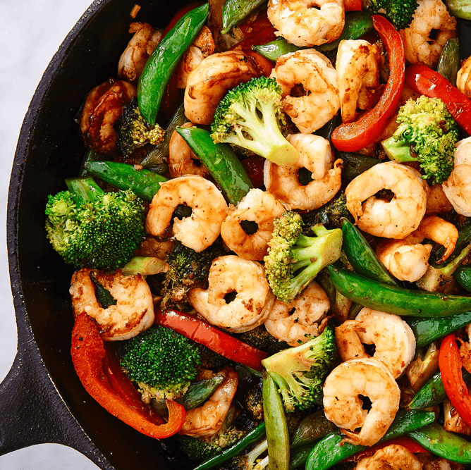 #9 Shrimp Stir Fry