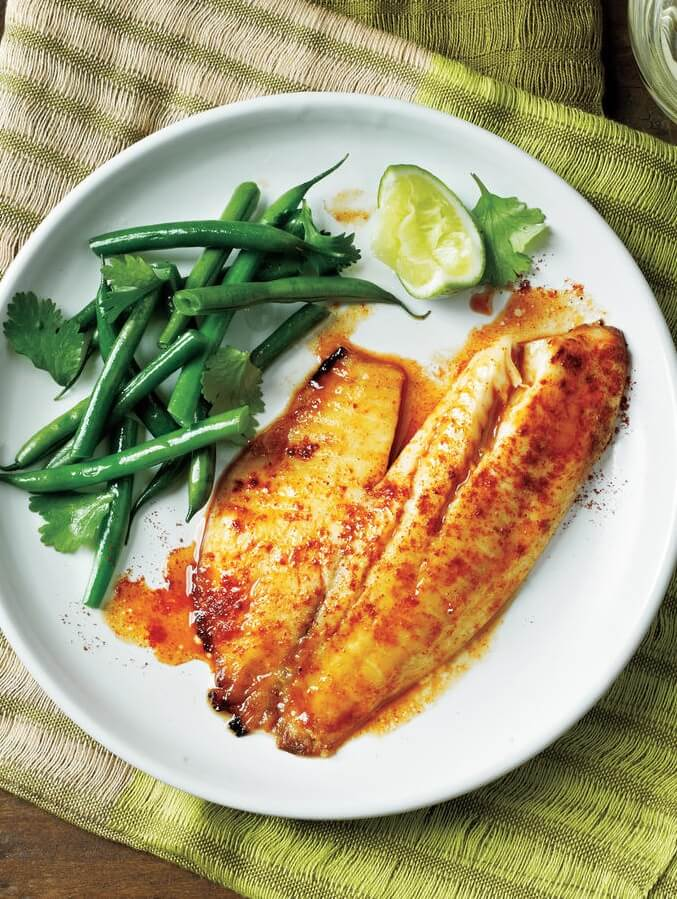 9 Sweet and Spicy Citrus Tilapia