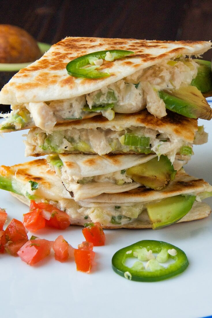 #9 Tuna Melt Quesadillas