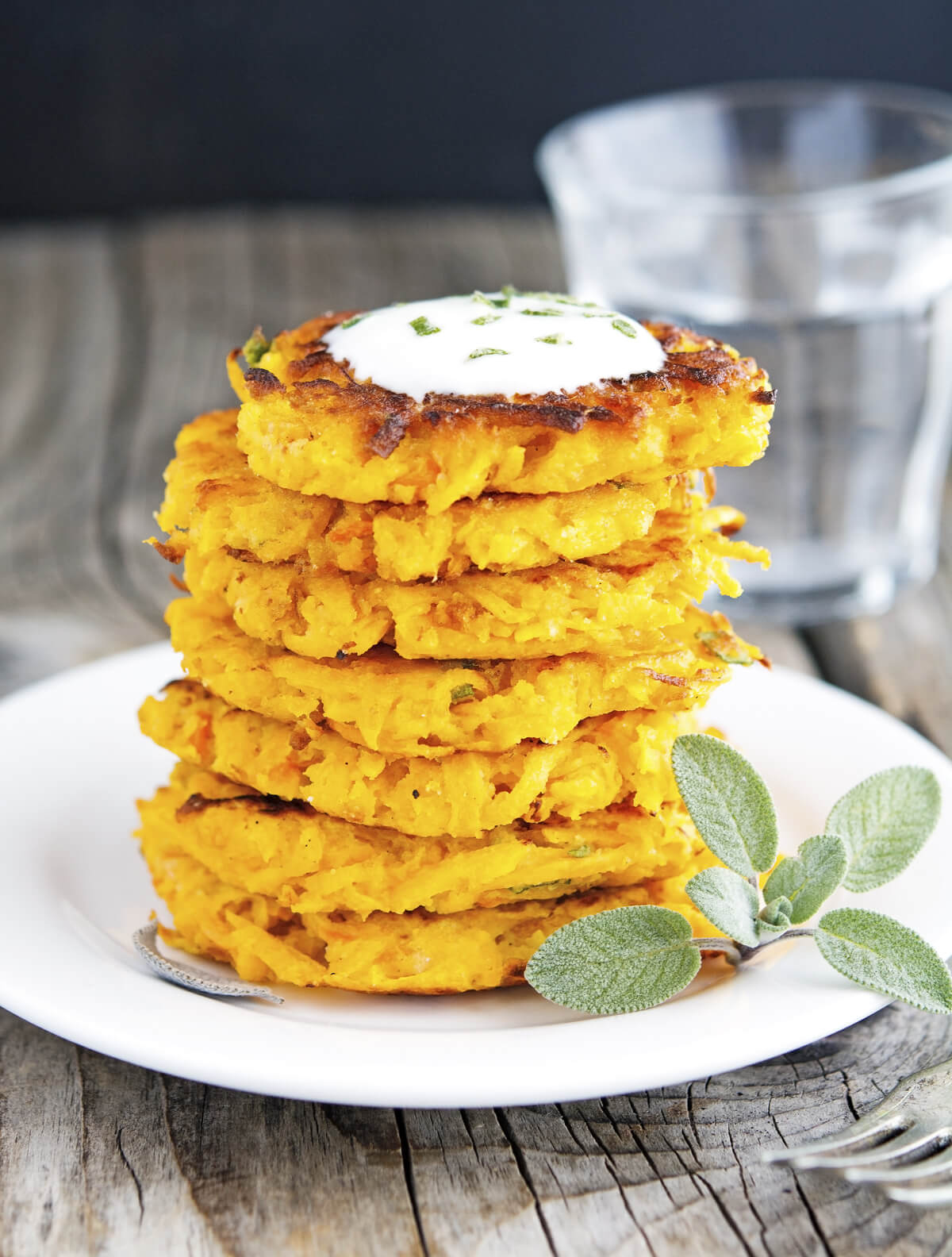 9. Yellow Squash Fritters