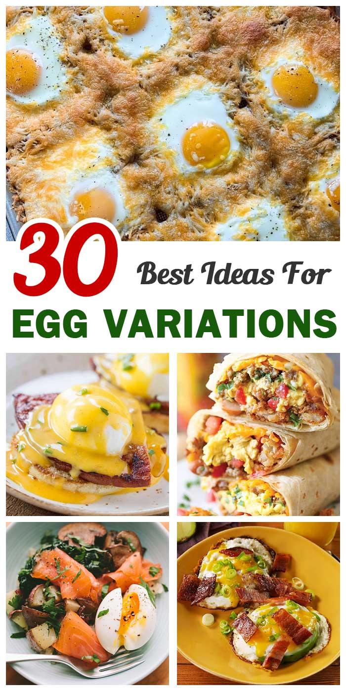 Best Ever Egg Variations For Breakfast