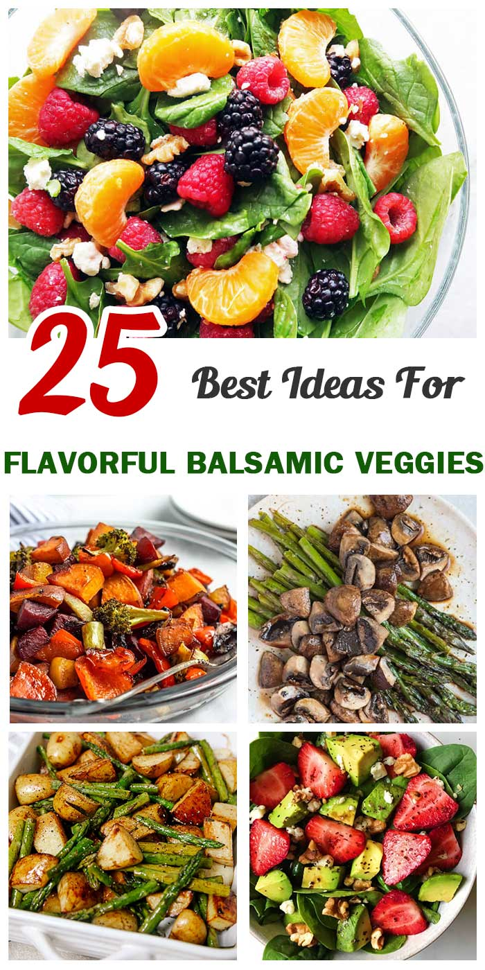 Flavorful Balsamic Veggies