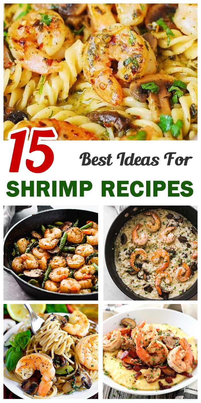 Mushroom and Shrimp Recipes