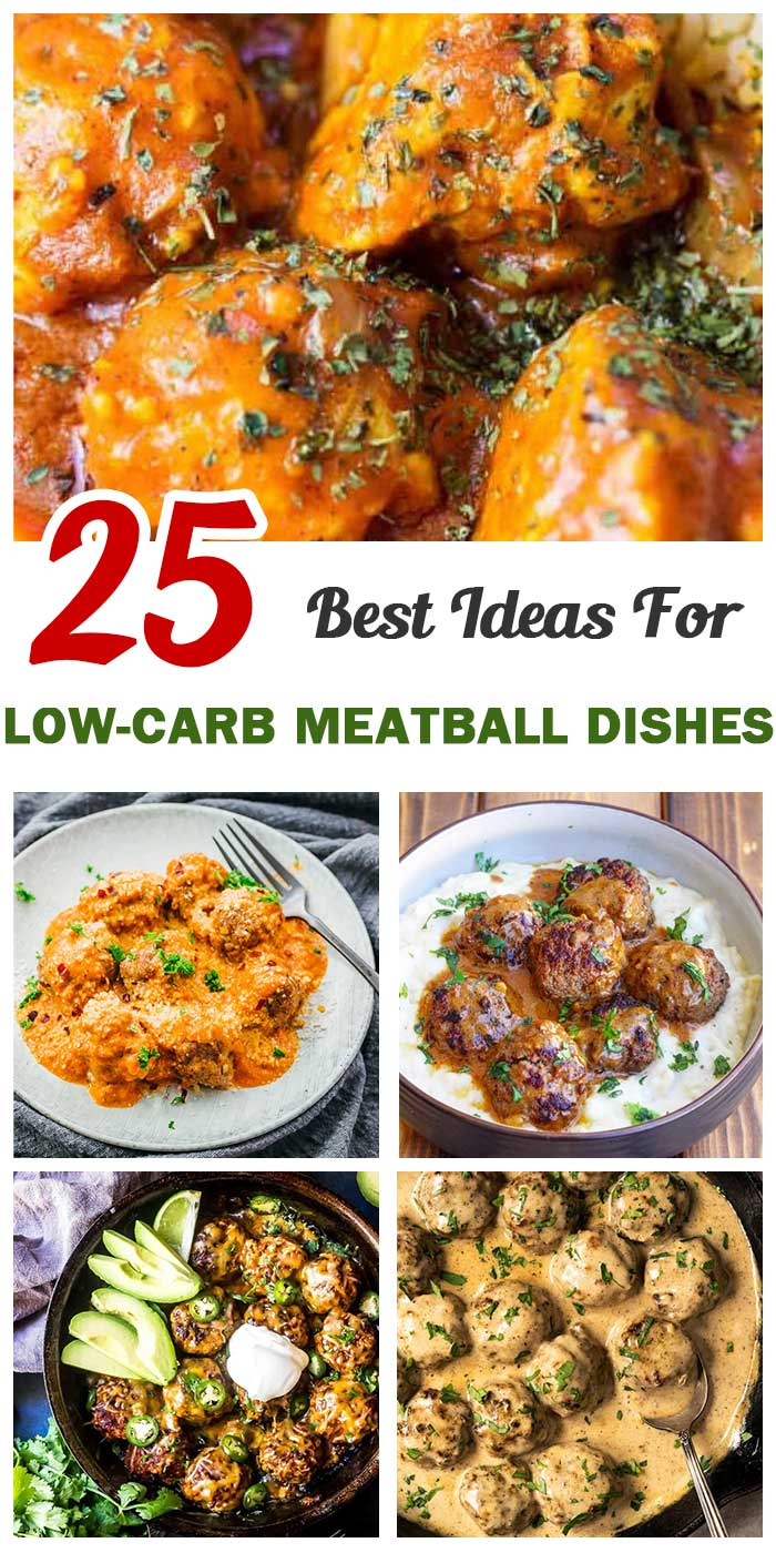 Top 25 Low-Carb Meatball Dishes