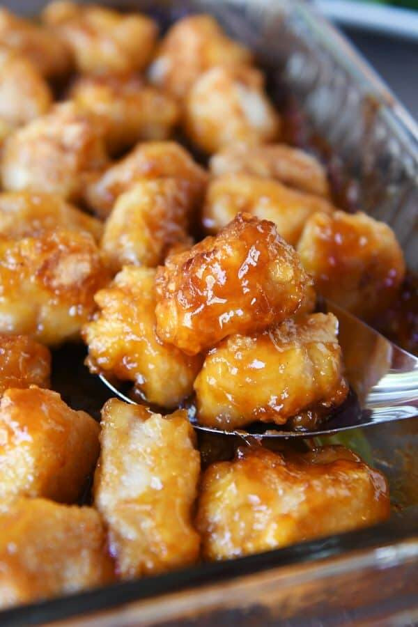 1 Baked Sweet and Sour Chicken