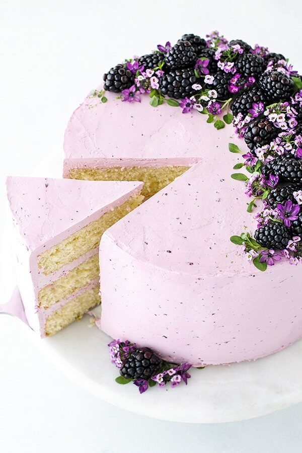 1 Blackberry Lime Cake