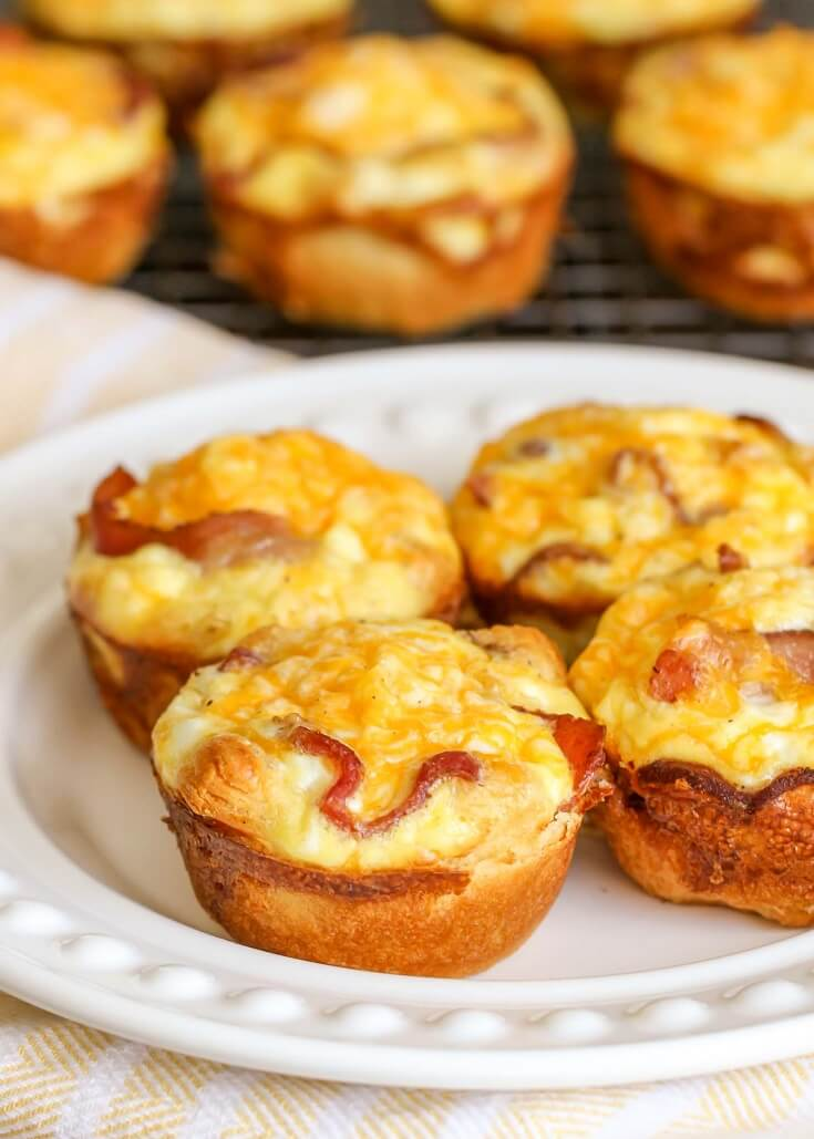 #1 Cheesy Breakfast Egg Cups