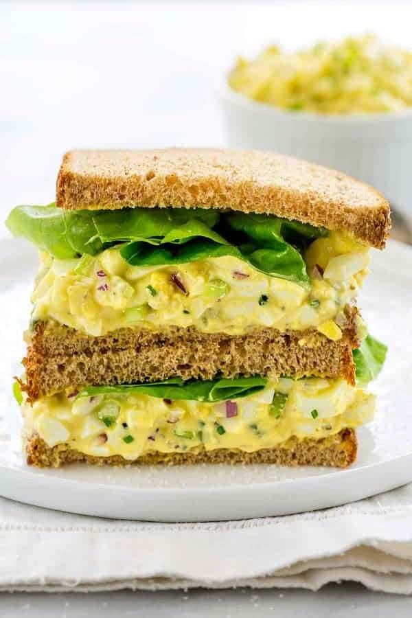 1 Egg Salad Sandwich