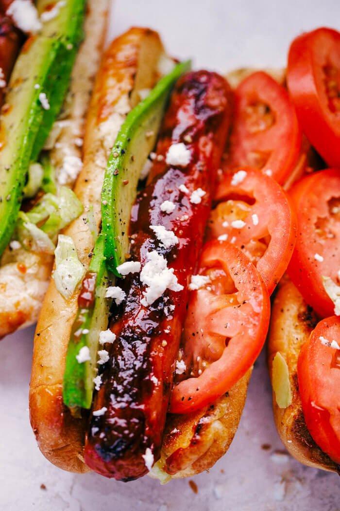 1 Grilled Hot Dog