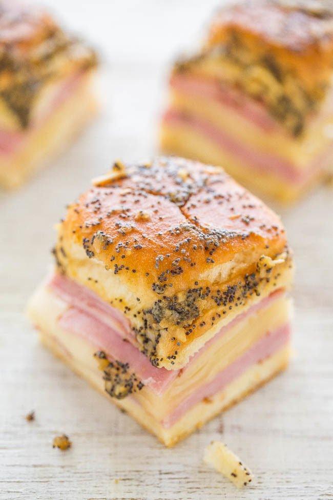 1 Ham and Cheese Sliders