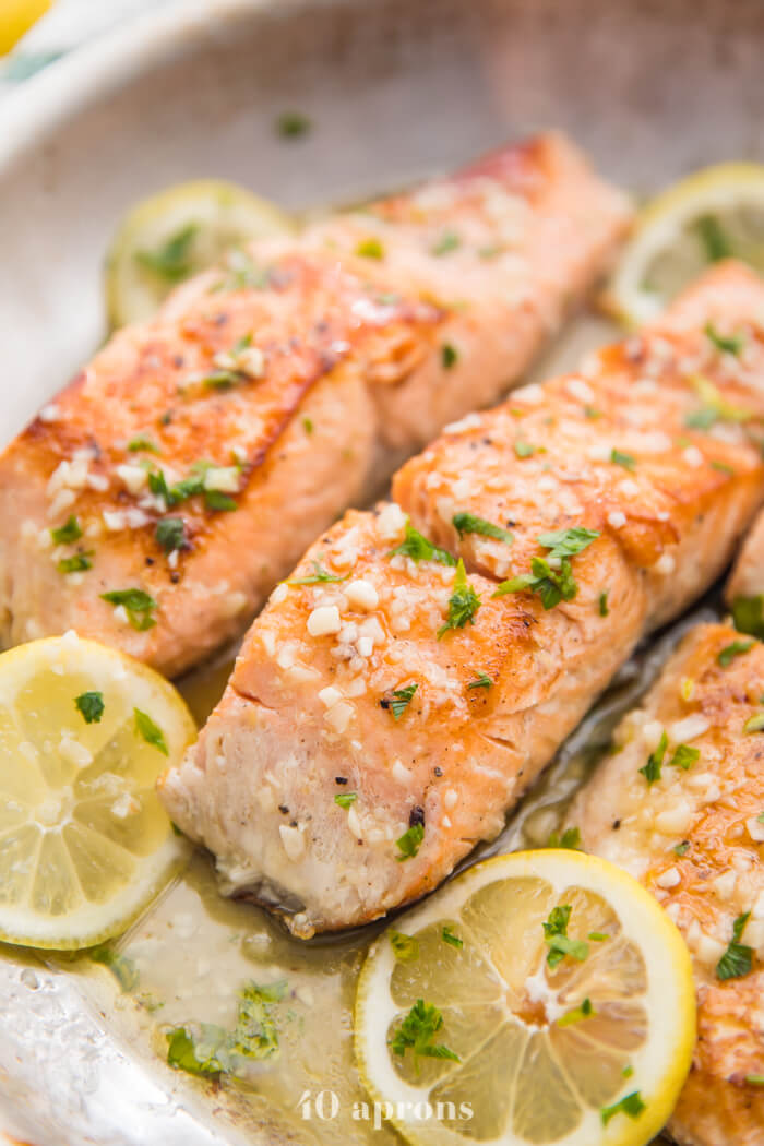 1 Lemon Garlic Salmon