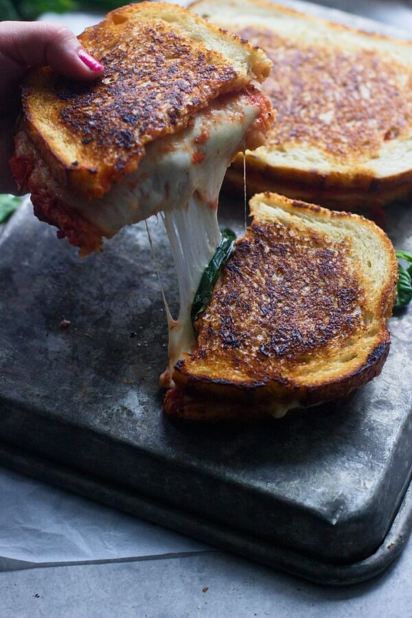 1 Pizza Margherita Grilled Cheeses