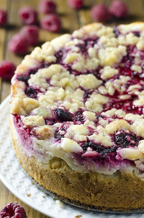 1 Raspberry Cream Cheese Coffee Cake