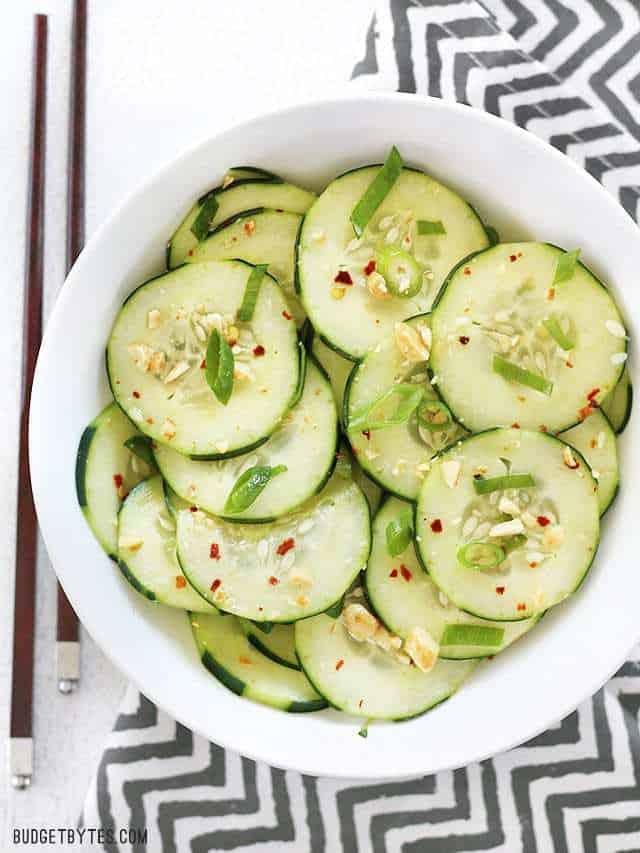 1 Thai Cucumber Salad