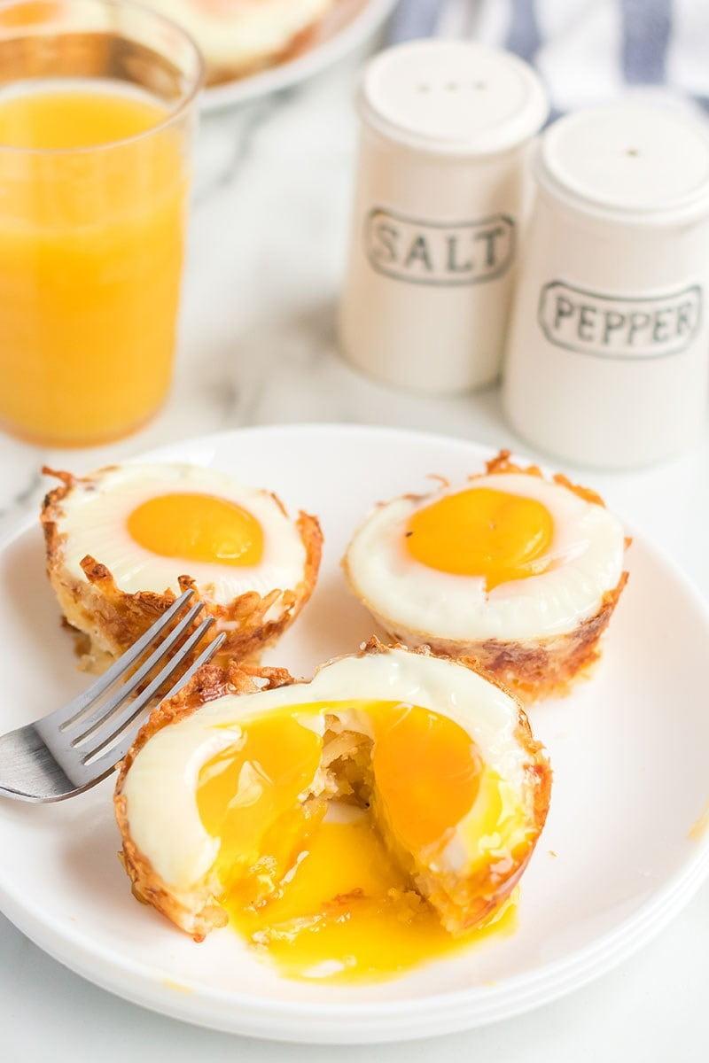 10 Birds Nest Breakfast Cups