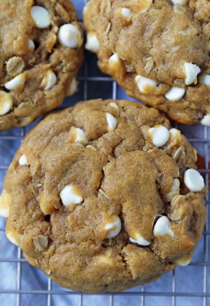 10 Chewy Pumpkin Cookies
