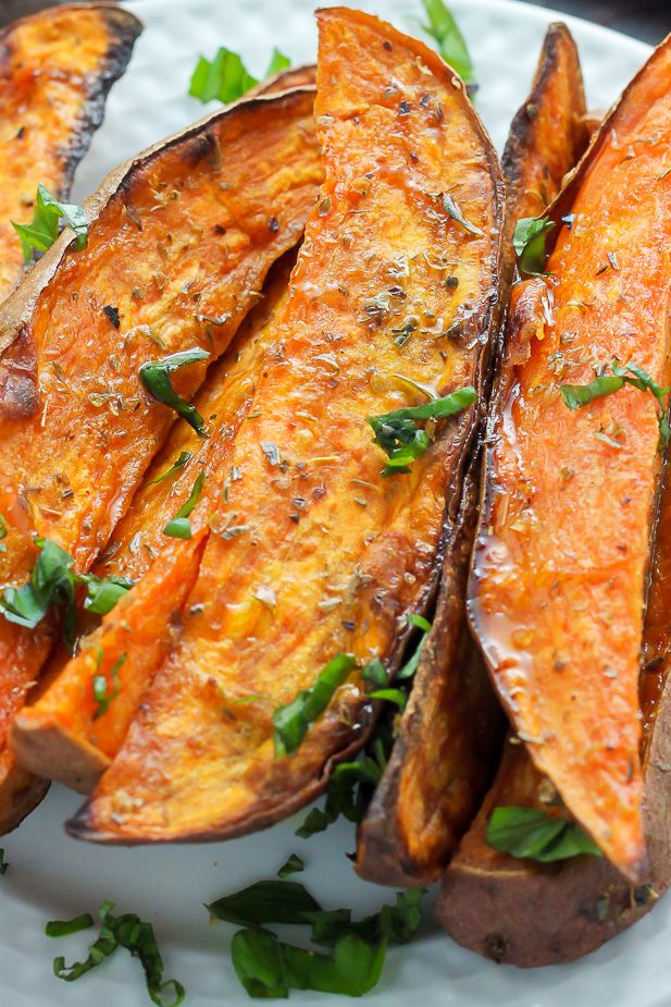 11 Extra Crispy Sweet Potatoes Wedges rv