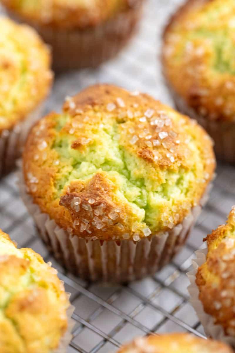 11 Pistachio Muffins