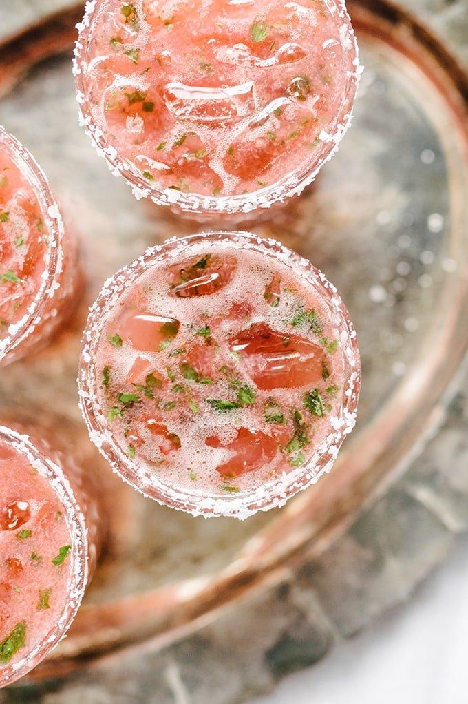 11 Strawberry Basil Margarita Summer Cocktail