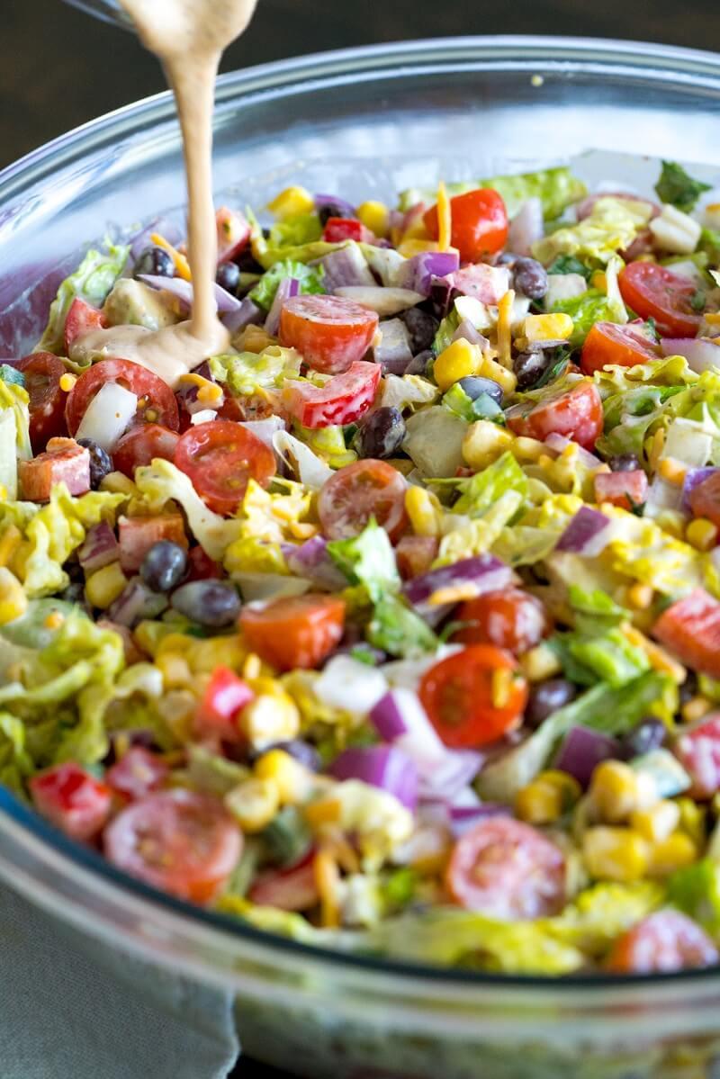 12 Cowboy Salad