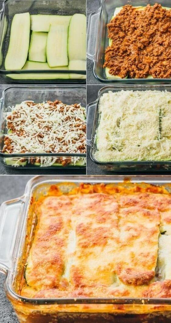 12 Zucchini Lasagna