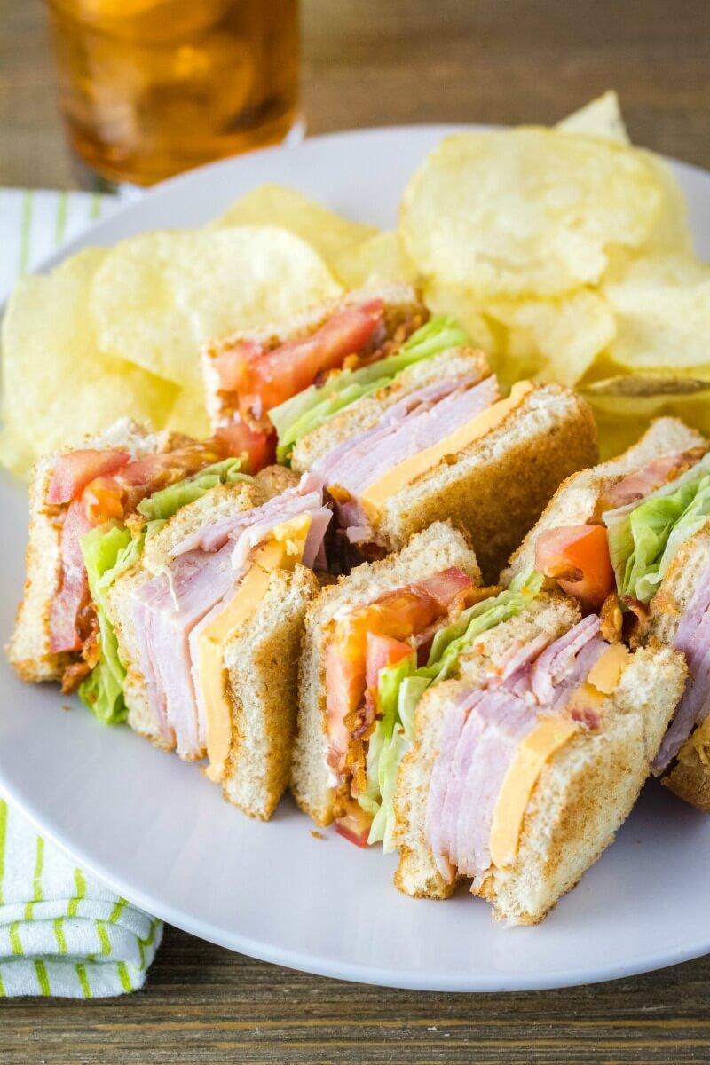 13 Classic Club Sandwich