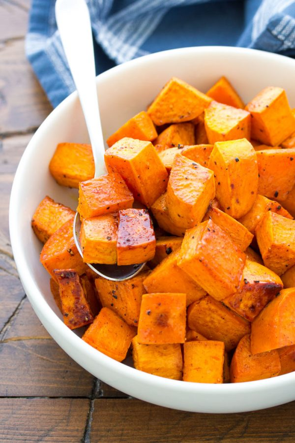 13 Honey Roasted Sweet Potatoes
