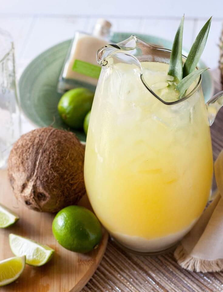 13 Pineapple and Coconut Margarita