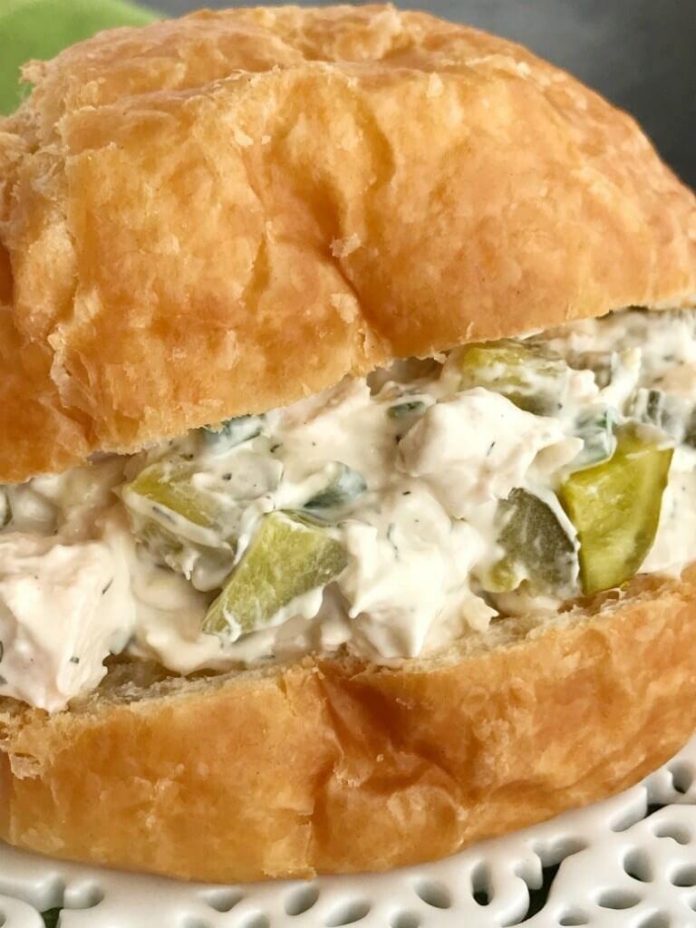 14 Dill Pickle Chicken Salad Sandwich