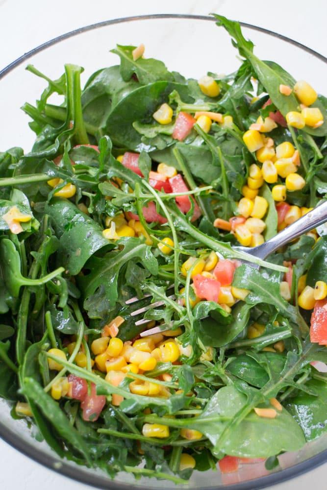 Mexican Arugula Salad