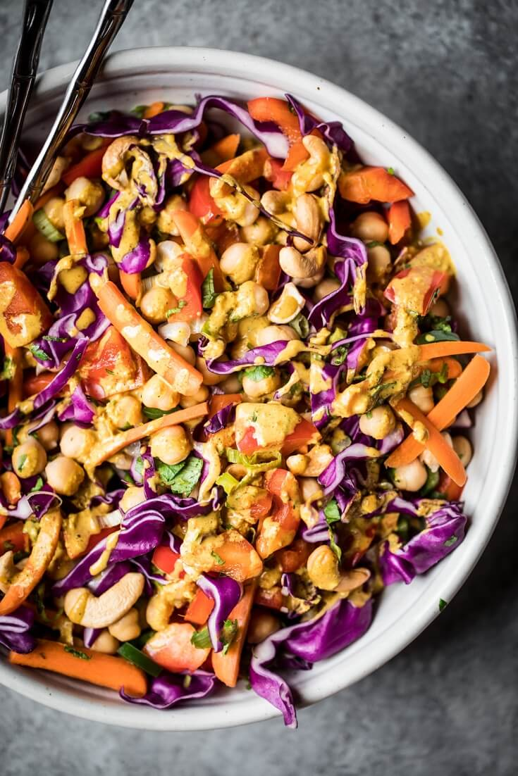 3 Chopped Thai Chickpea Salad