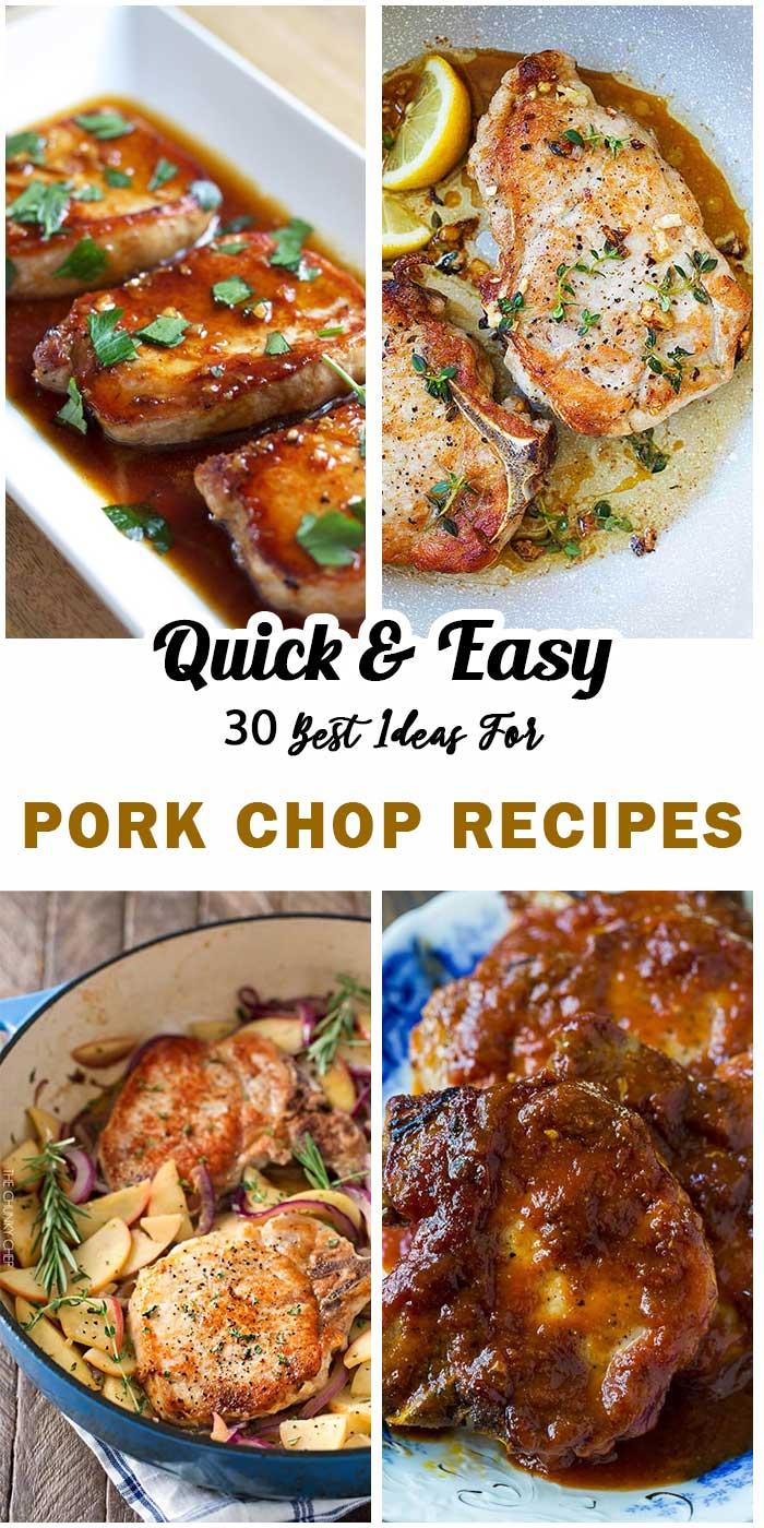 30 Best Pork Chop Recipes