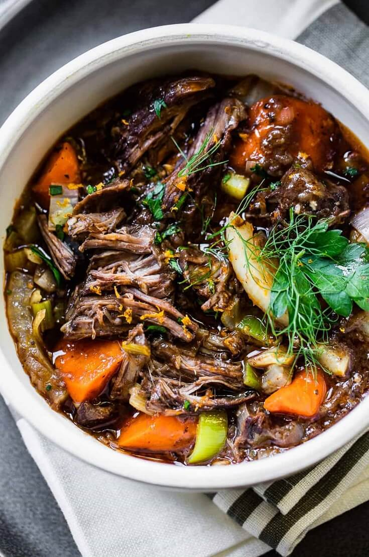 French Red Wine Beef Stew
