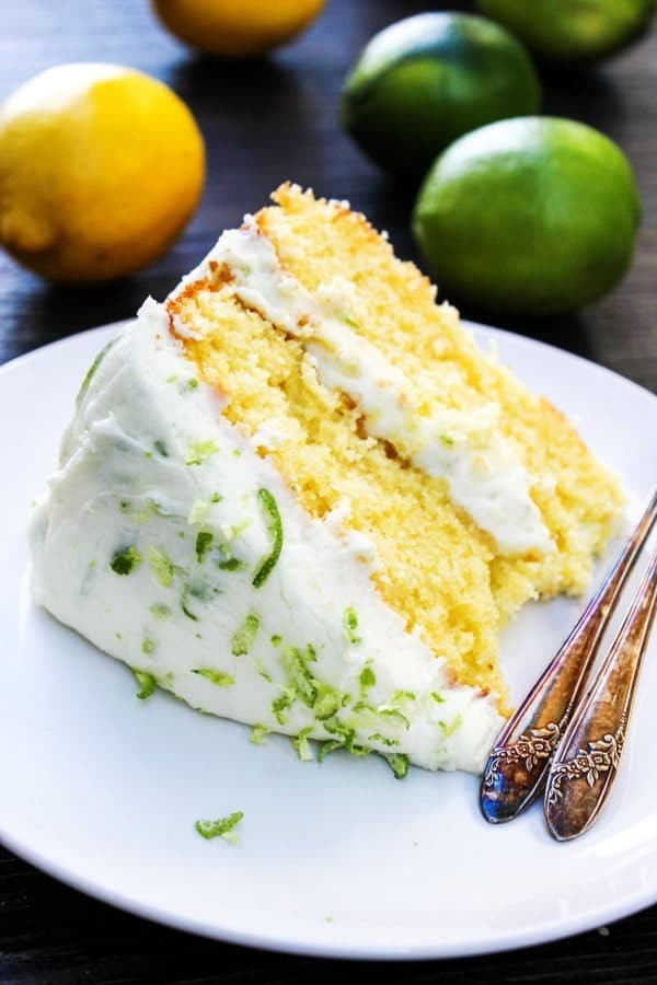 4 Lemon Lime Layer Cake