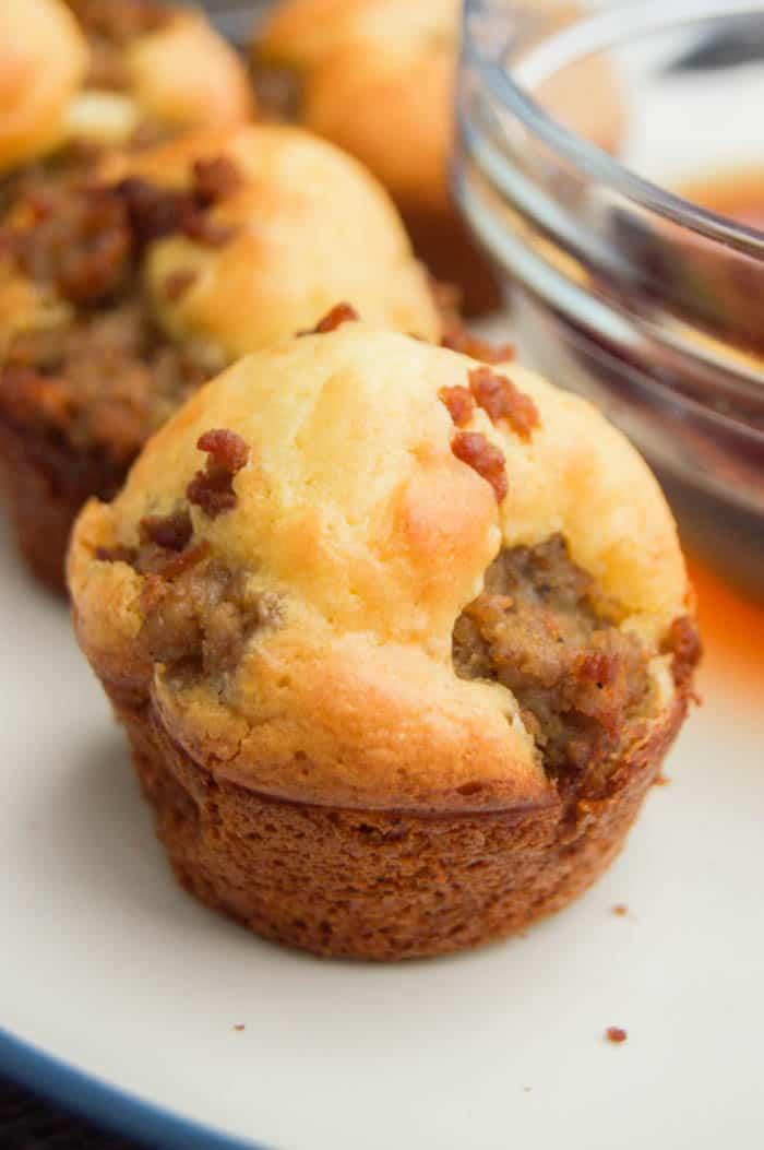 #4 Mini Sausage Pancake Muffins