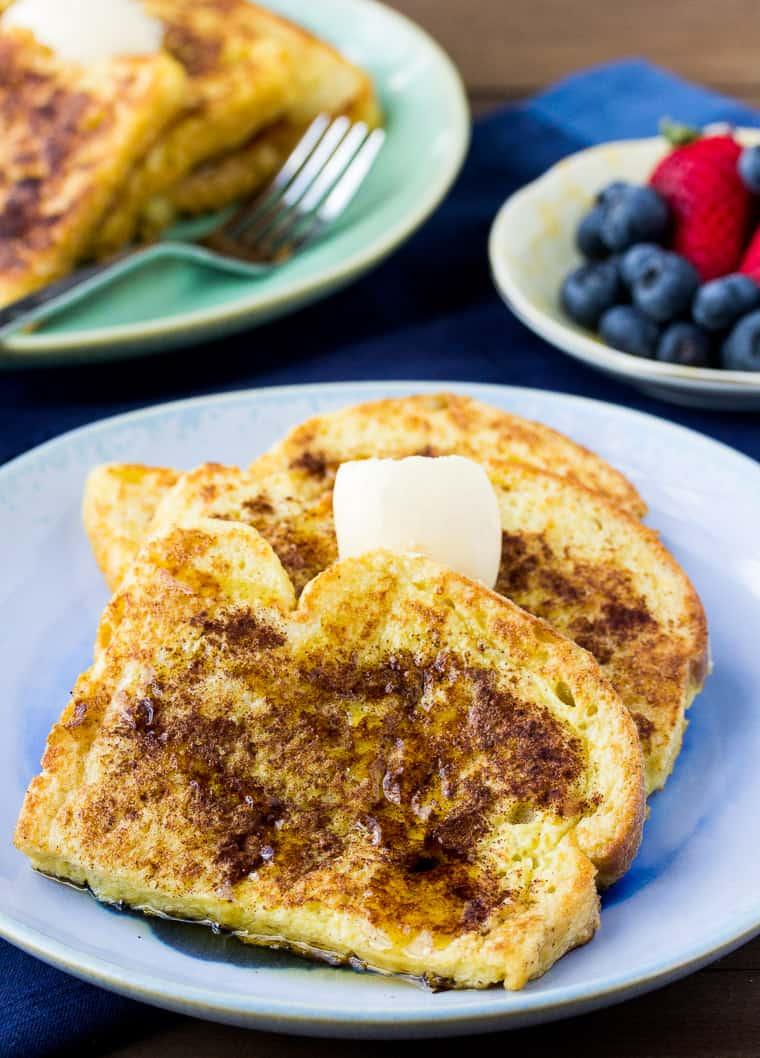 4 Vanilla Cinnamon French Toast