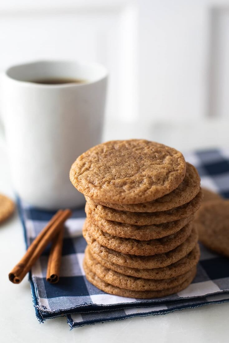 6 Cinamon Coffee Cookies