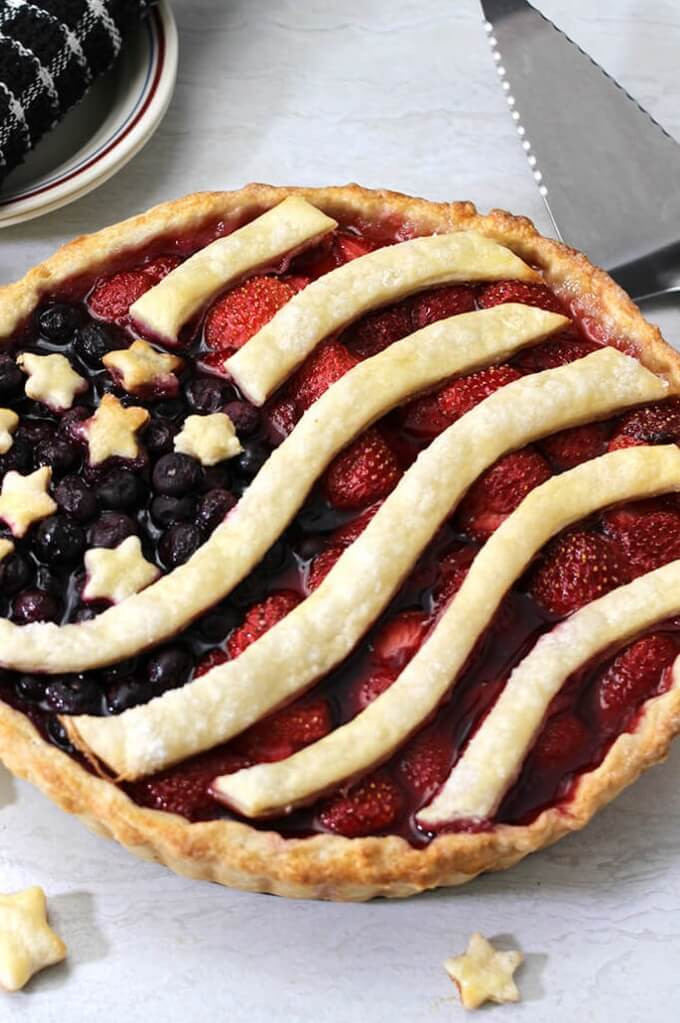6 Glory Berry Pie