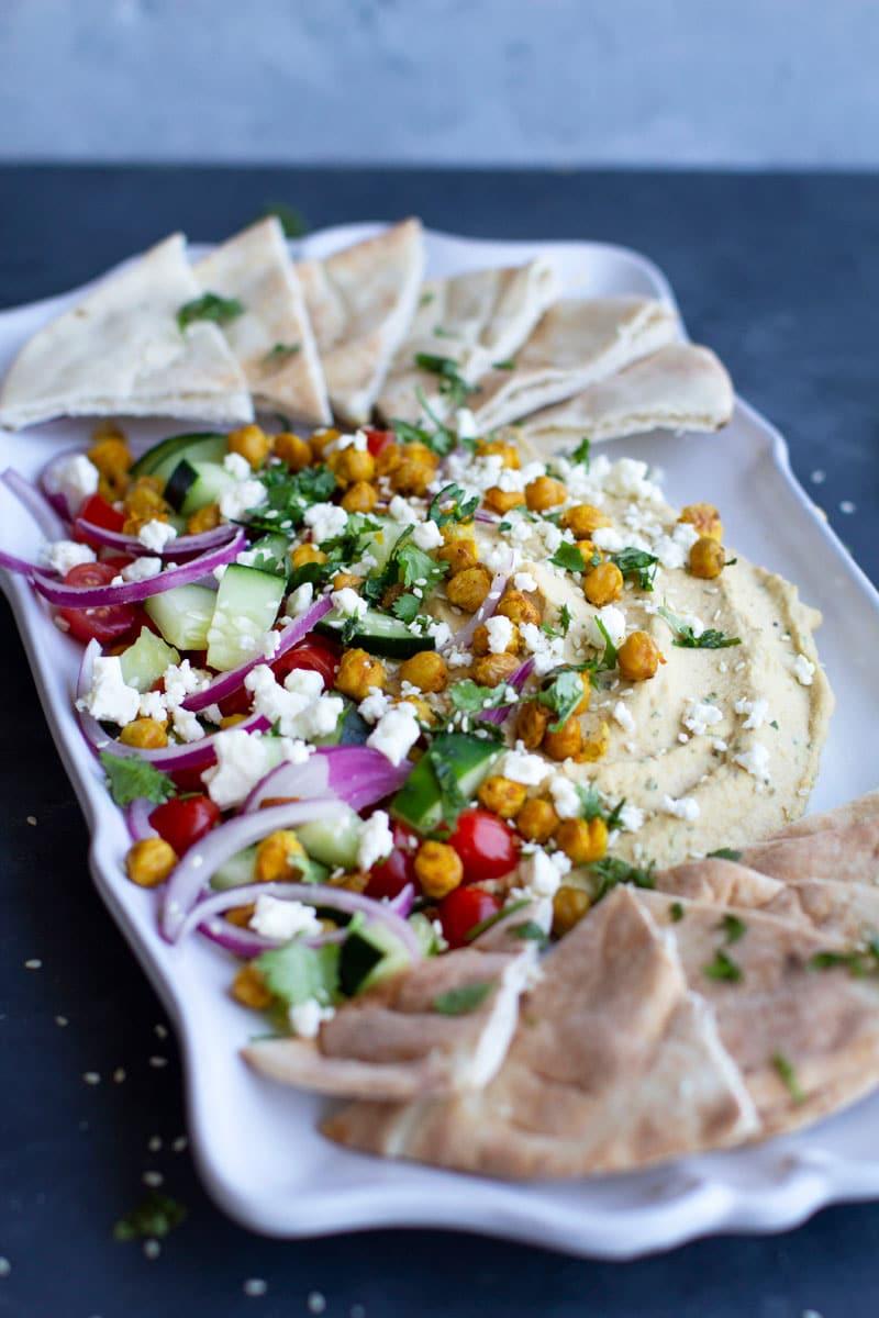 6 Loaded Mediterranean Hummusvv