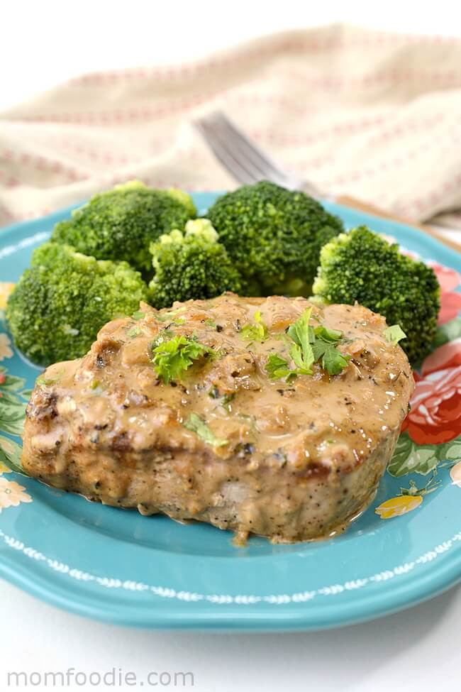 7 Keto Pork Chops with Parmesan Cream Sauce