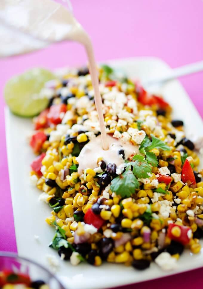 7 Mexican Street Corn Salad