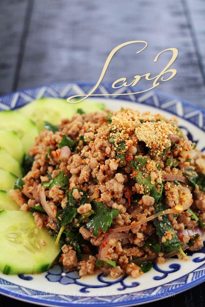 7 Minced Meat Salad Larb