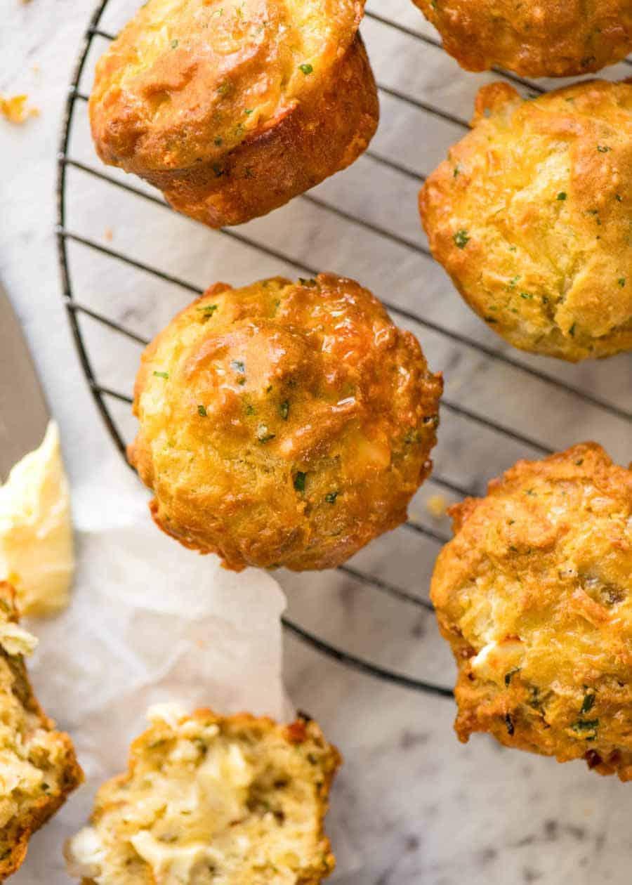 7 Savory Cheese Muffins