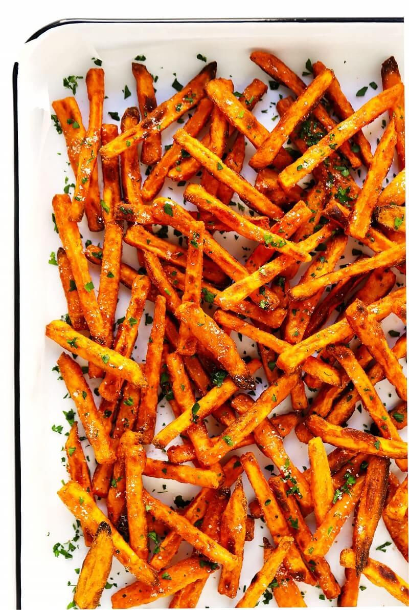 7 Sweet Bake Potato Fries