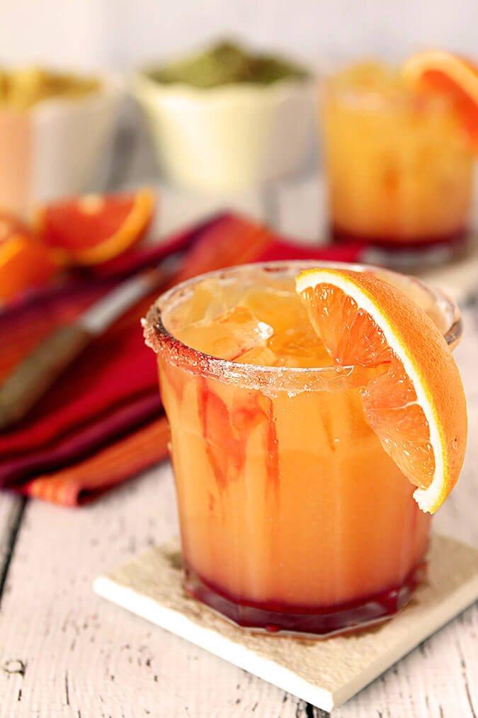 7 Tequila Sunrise Margarita