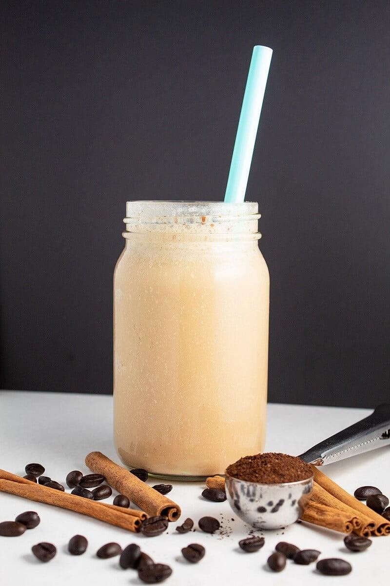 7 Vanilla Cinnamon Keto Iced Coffee