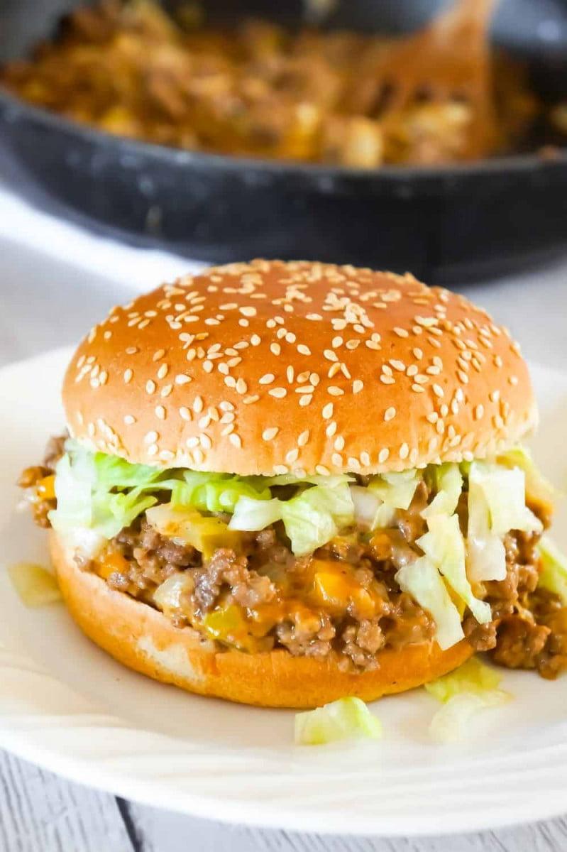8 Big Mac Sloppy Joes
