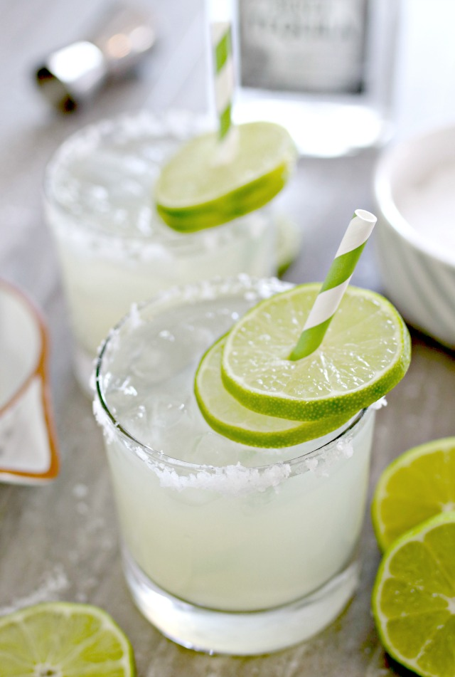 8 Lime and Orange Margarita