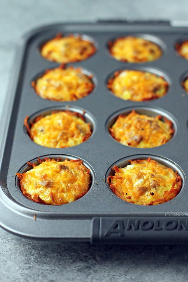 #8 Sausage Egg and Cheese Hash Brown Cups