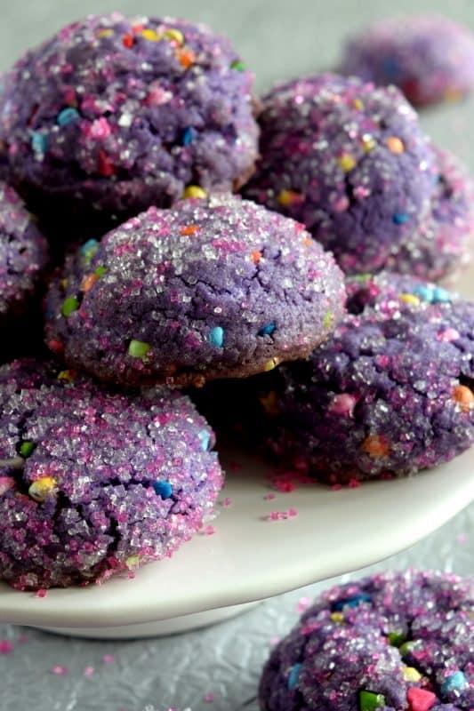 8 Unicorn Poop Cookies